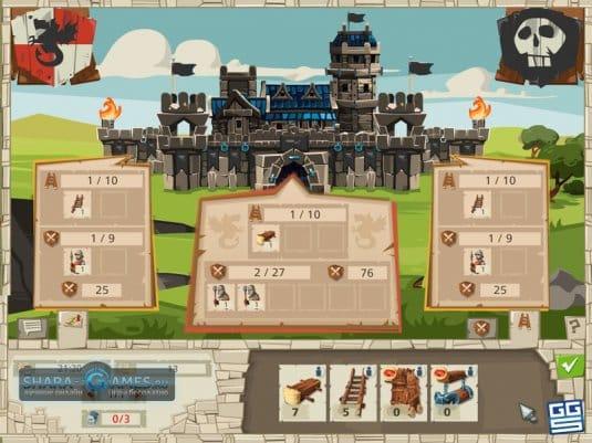 Нападайте на лагеря баронов и других игроков в окрестностях вашей крепости
