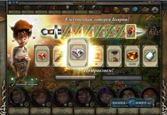 Выигрывайте в лотерее Cultures Online ценные призы ежедневно