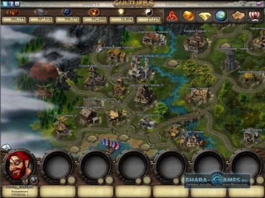 Новое обновление популярнной браузерной игры — Cultures Online Тайны подземелий