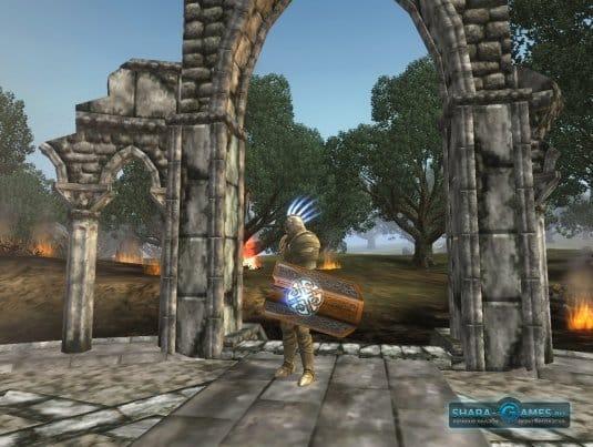 Клиентская ролевая игра Alvegia Online