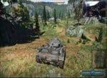 Скриншот наземной техники из игрового окна