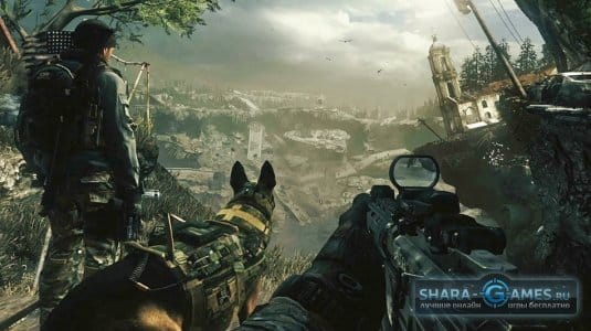 Сюжет игры Call of Duty: Ghosts вас не отпустит