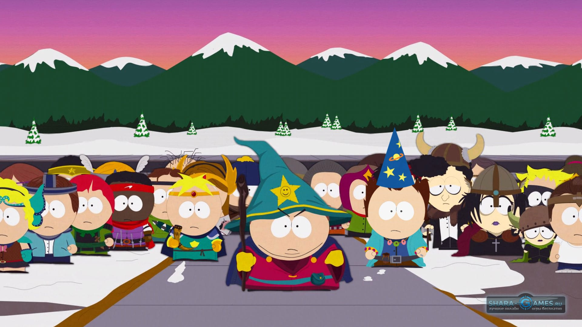 It was a miracle that we even get to be able to playsouth park: the stick of