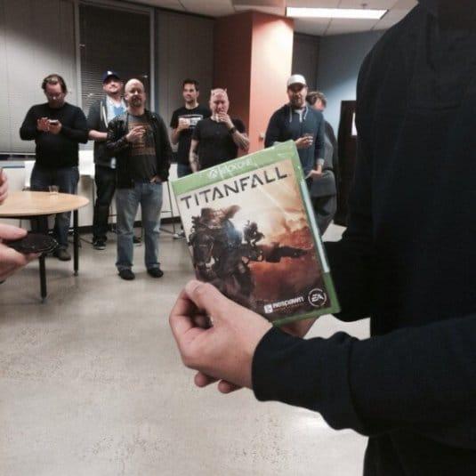 Готовые диски шутера Titanfall