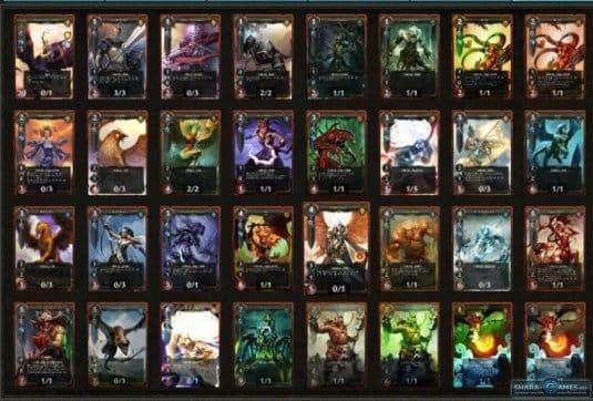 Разные карты в игре Might and Magic: Duel of Champions