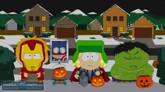 Известнейшие супергерои комиксов Marvel в образах на Halloween