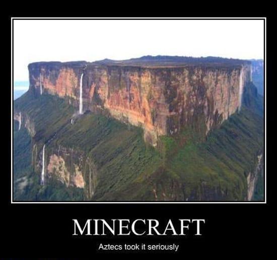 Майнкрафт для ацтеков