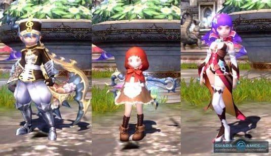 Новые костюмы Dragon Nest Кали