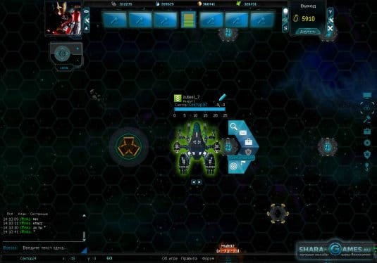 Обзор космического корабля в стратегии Zuteel