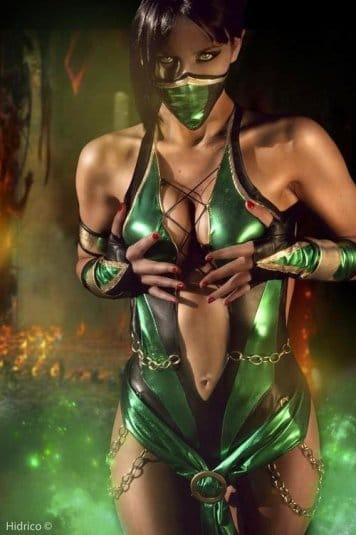 Косплей Мортал Комбат Jade №2