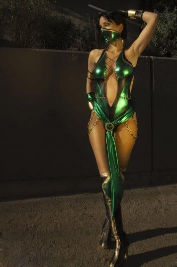 Косплей Мортал Комбат Jade №4