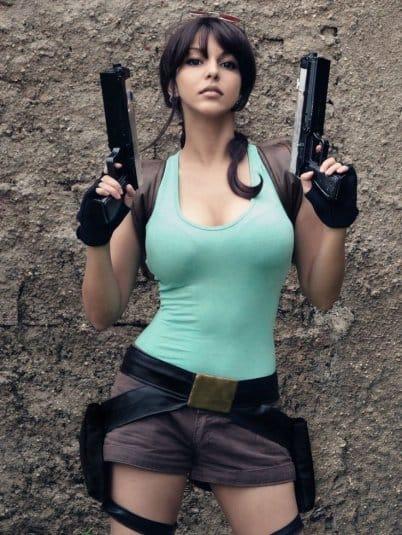 Косплей Tomb Raider в исполнение Shermie