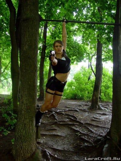 Косплей Tomb Raider от русской девушки Елены