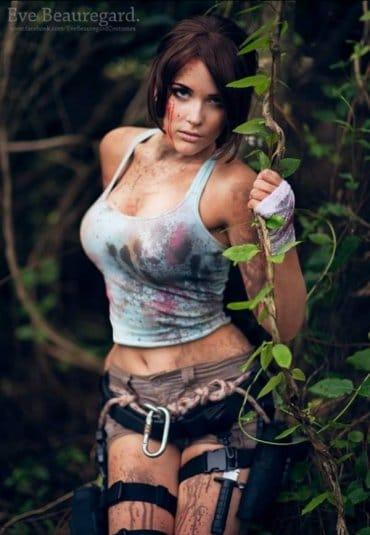 Косплей Tomb Raider в исполнение Beauregard