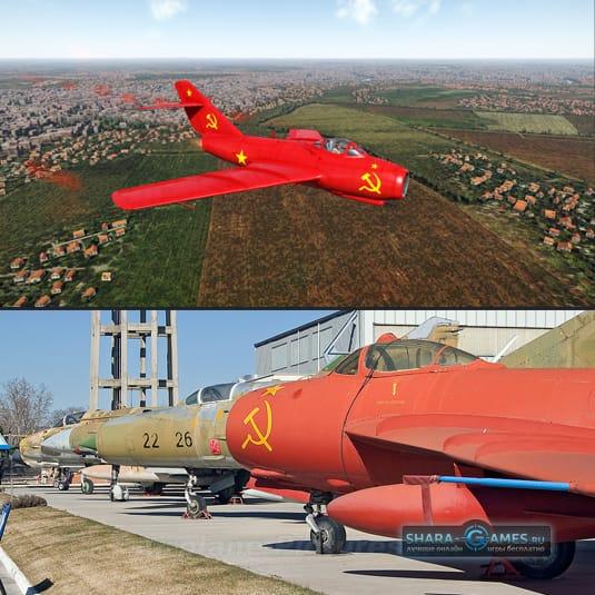 Скин на МиГ-15