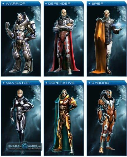 Astro Lords: 6 видов генералов