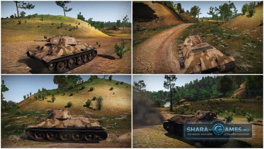 Камуфляж для Т-34-85