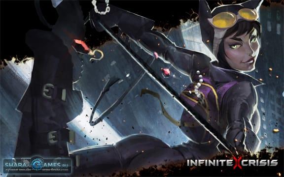 Женщина-кошка в Infinite Crisis