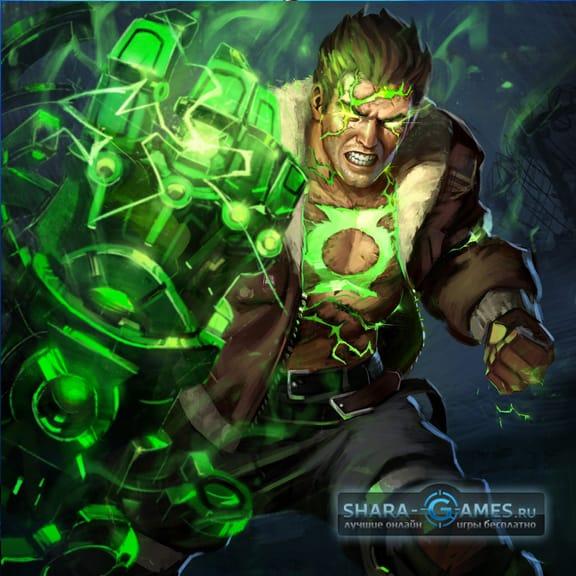 Атомный Зеленый Фонарь