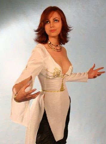 Анна Молева — косплей на Элику №2
