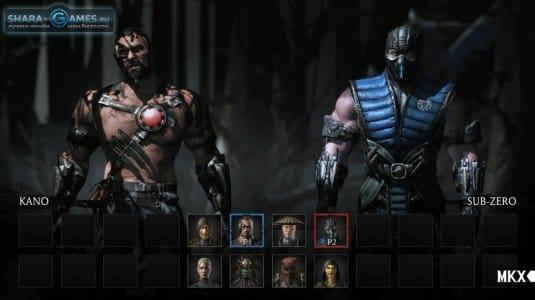 Выбор игроков перед сражением