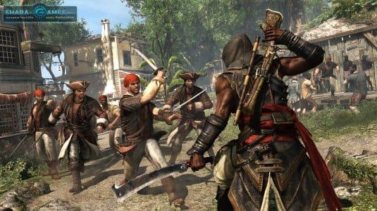Бой с несколькими пиратами