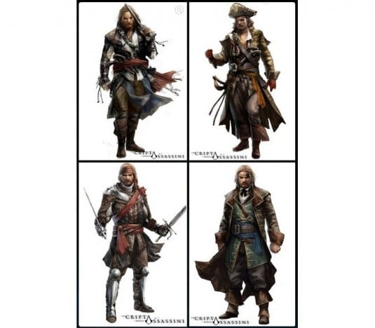 Ключи и броня тамплиеров в Assassin s Creed 4: Black Flag