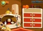 Кухня с продуктами