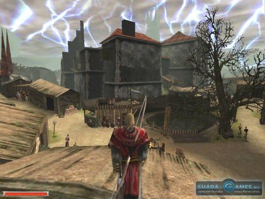 Безымянный герой в первой части игры