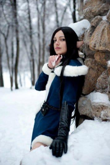 Анна Молева — косплей на Сильфиду №1
