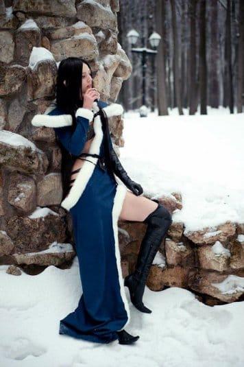 Анна Молева — косплей на Сильфиду №4