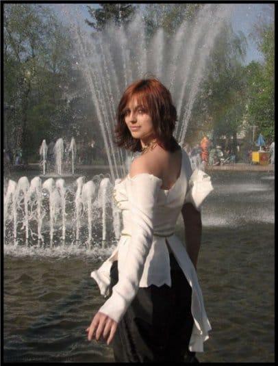 Анна Молева — косплей на Элику №1
