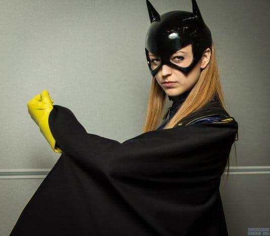 Анна Молева — косплей на Женщину-Кошку №6