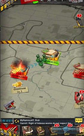 Атака города противника