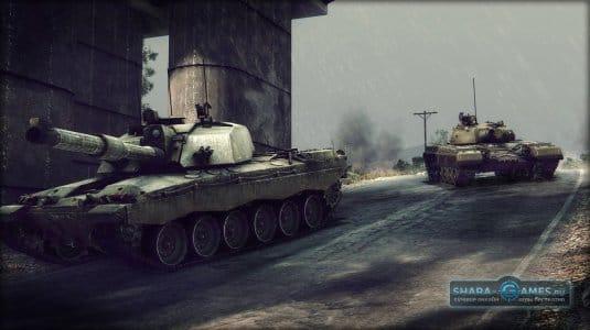 Скачайте игру и станьте первыми в этих танковых баталиях