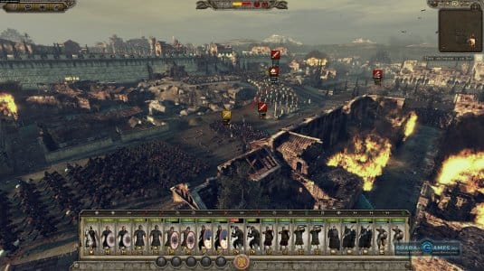Сражение за замок