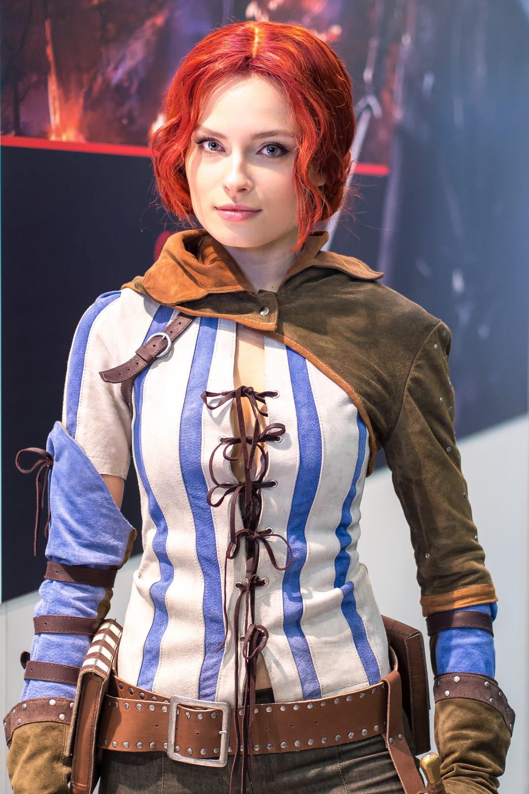 Triss merigold cosplay adult tube