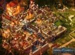 Захваченный город в огне