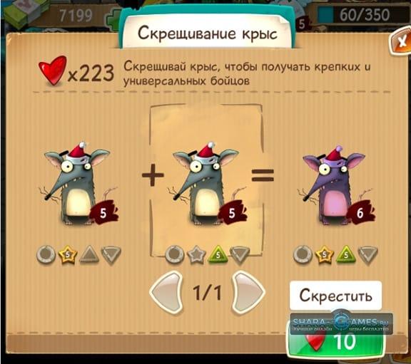 Скрещивание крыс