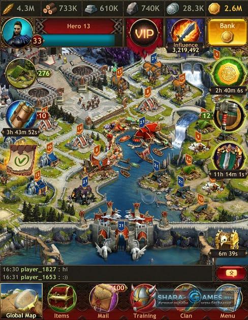 Vikings War of Clans правильное развитие