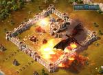 Атака дракона на вражеское королевство