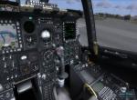Внутри кабины самолета a10c