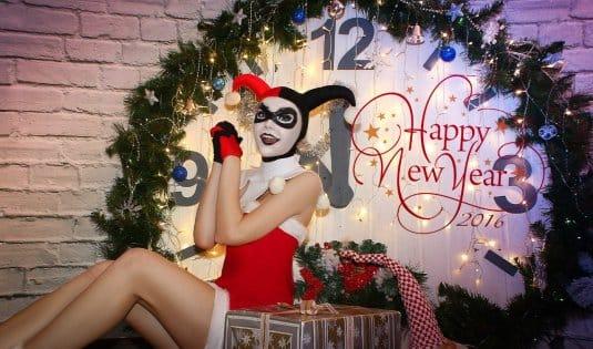 Новогодняя Harley Quinn #2