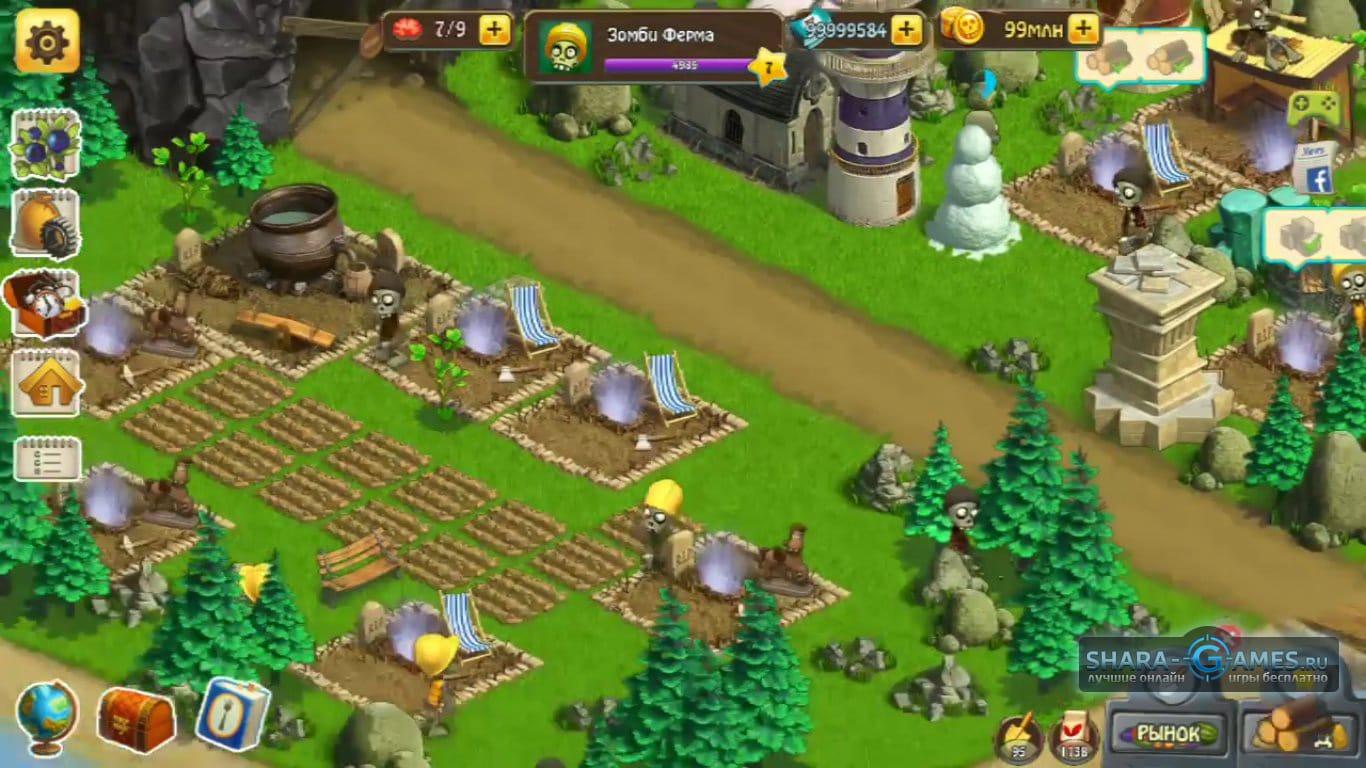 Секретный остров в зомби ферме, чаво: Троянский и Лилипутский острова в мобильной ЗФ 6 фотография