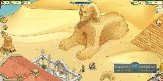 Астерикс и друзья в Египте