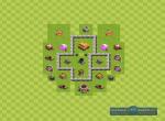 Схема строения базы для удачного фарма. Вариант 3