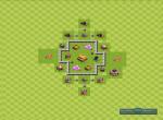 Схема строения базы для удачного фарма. Вариант 8