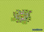 Схема строения базы для удачного фарма. Вариант 11