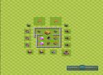Схема базы при игре с уклоном на защиту трофеев. Вариант 2