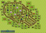 Расстановка для клановых войн на 11 уровне TX. Вариант 6